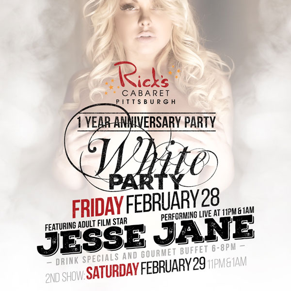1 YR Anniversary White Party with Jesse Jane